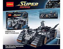 Конструктор Аналог Lego Decool Бэтмобиль 1045 дет