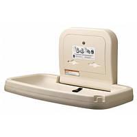 Пеленальный столик настенный откидной горизонтальный Bobrick KB200-00-INB США