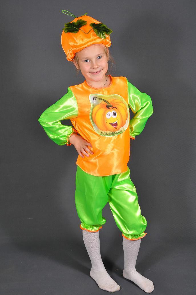 e7e1e613 Детский карнавальный костюм ТЫКВА, ТЫКОВКА на 3,4,5,6,7 лет ...