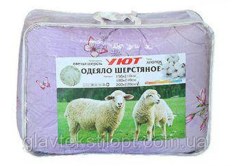 "Шерстяное одеяло ""Уют"" евро (200*220), фото 2"