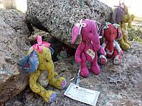 Слоник, мягкая игрушка,для детей и взрослых, ручная работа