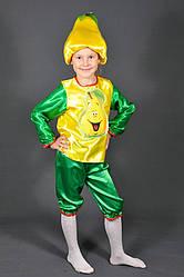 Детский карнавальный костюм ГРУША для детей 5,6,7,8 лет маскарадный костюм ГРУШИ. Костюмы ФРУКТОВ. 318