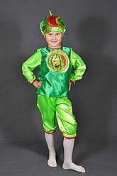 Детский карнавальный костюм АРБУЗ, АРБУЗИК на 3,4,5,6,7,8 лет маскарадный костюм АРБУЗА. Костюмы ОВОЩЕЙ. 318