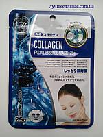 Тканевая маска с коллагеном Япония