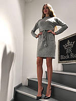 Платье женское Короткое Теплое Black Rich (M)