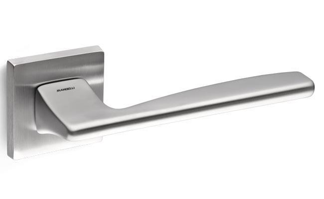 Ручка Mandelli Link 1031/R4-26D с накладкой WC мат. хром