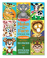Набор наклеек Забавные животные Melissa&Doug (MD18605), фото 1