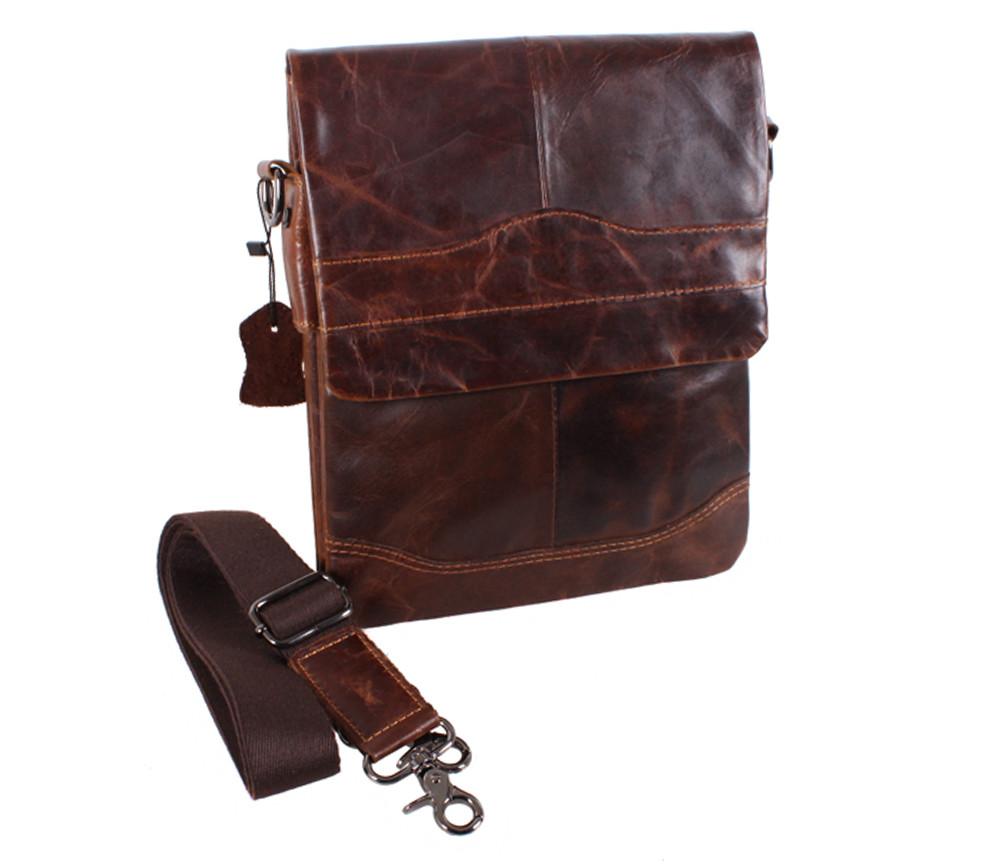 Кожаная мужская сумка 140049