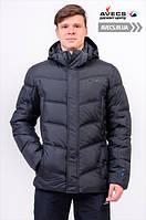 Мужская зимняя куртка Avecs 970 Black спортивная наполнитель тинсулейт зима недорого | Avecs куртка размер