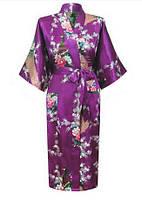 Китайское кимоно средней длины