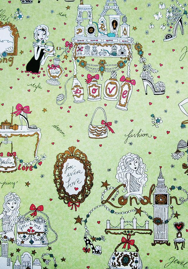 Бумажные обои Erismann My life is sweet Арт. 7310-07