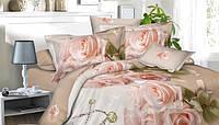 Комплект постельного белья роза 5д полуторный недорого