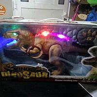 Интерактивный динозавр на управлении
