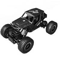 Автомобиль OFF-ROAD CRAWLER на р/у TIGER матовый черный, аккум. 4,8V, метал. корпус, 1:18 Sulong Toys (SL-111MB)