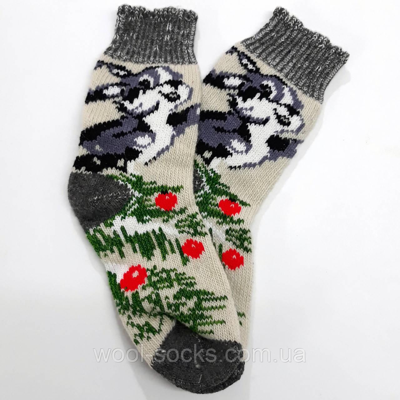 Носки зимние теплые