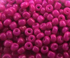 Бисер, Пурпурный, Размер 10, Китай