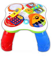 """Развивающий игровой столик-комплекс Abero """"Fun Learning Table"""" (Обучающий столик) QX-91102E"""
