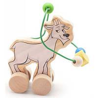 Лабиринт-каталка Козел, Мир деревянных игрушек