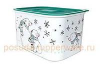 Акваконтроль Снежные Мишки 1,3 литра. Прекрасный подарок на Новый Год!