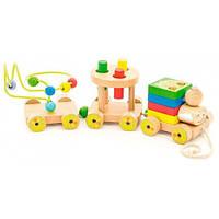 Паровозик Чух-чух 2, Мир деревянных игрушек