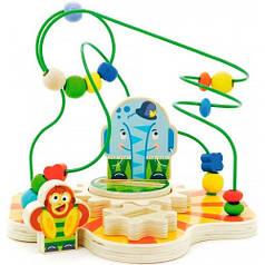 Сортер-лабиринт Цирк , Мир деревянных игрушек