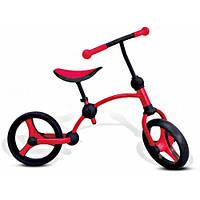 Беговел Balance bike 2 в1, красный, Smart Trike