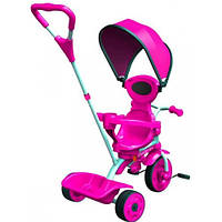 Детский велосипед Spin розовый, Y Strolly
