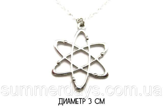 Размер кулона атома