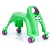 Детская каталка Whirlee (зеленый неон), Toy Monster