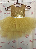 Детское пышное платье на праздник на 1-2 года 01071 нар