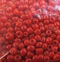 Бисер, Красный, Размер 10, Китай