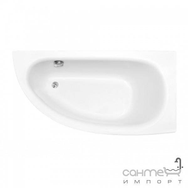 Акриловая ванна Besco Praktika 150x70 R Акриловая ванна Riho Still Square 180x80 подголовник слева