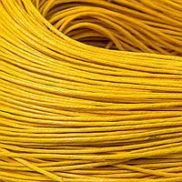 Шнур Вощеный Хлопковый, Цвет: Оранжевый, Размер: Толщина 0.7мм, около 80м/связка, (УТ100009712)