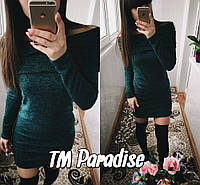 Платье Хомут зеленое