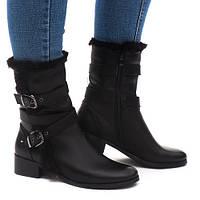 Отличные женские зимние ботинки. Удобные и комфортные в носке. Хорошее качество.