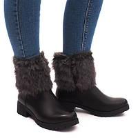Отличные женские зимние ботинки. Удобные и комфортные в носке.