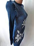 Молодежные вязанные платья недорогие., фото 2
