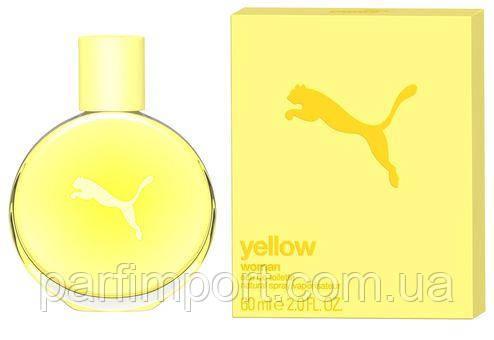 Puma Yellow Woman EDT 60ml Туалетная вода женская (оригинал подлинник Германия)