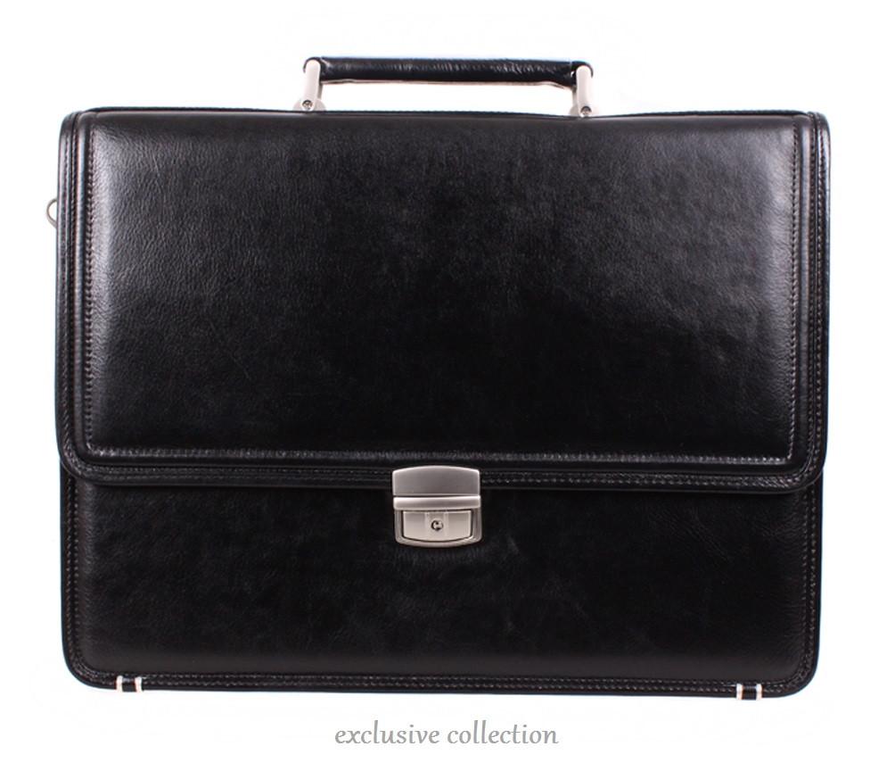 Кожаный деловой портфель 140077