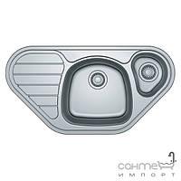 Кухонные мойки Franke Угловая кухонная мойка Franke Spark SKX 651-E 101.0510.141 полированная нержавеющая сталь