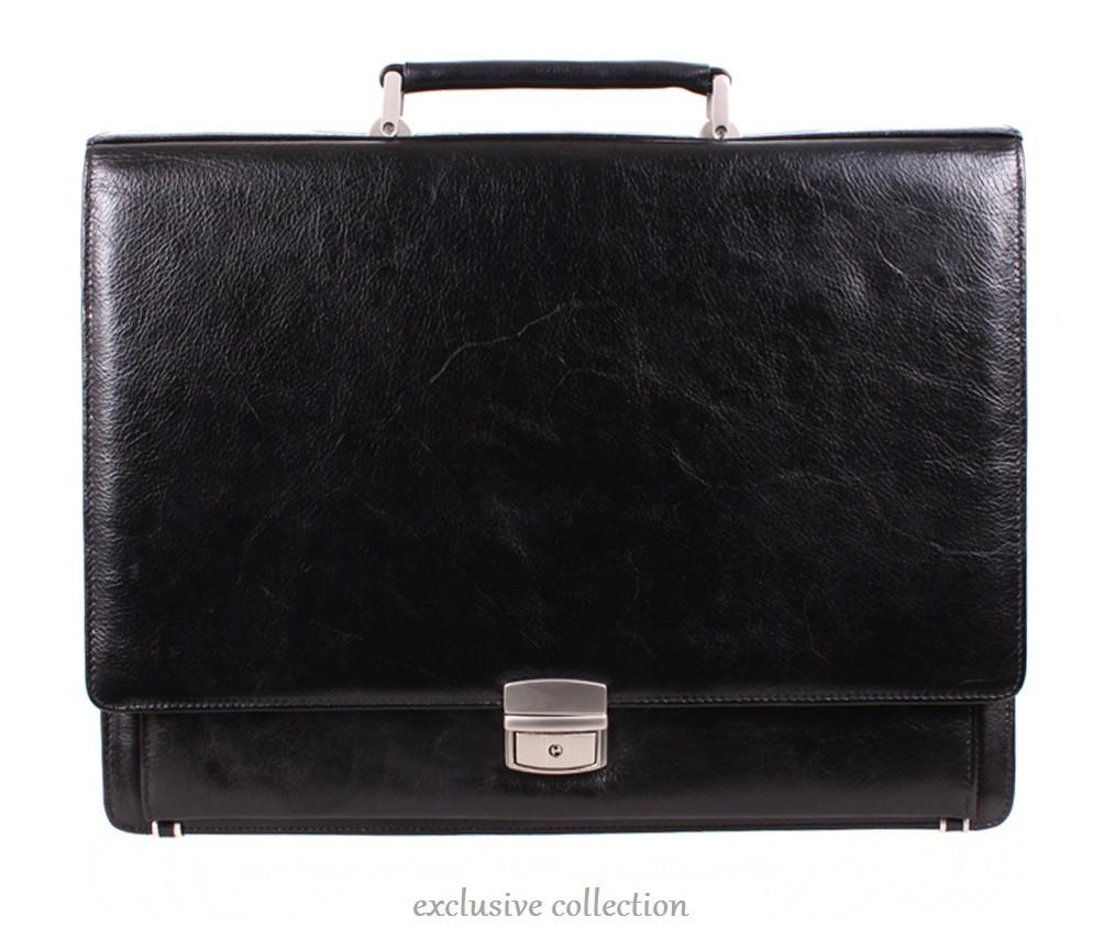 Кожаный деловой портфель 140083