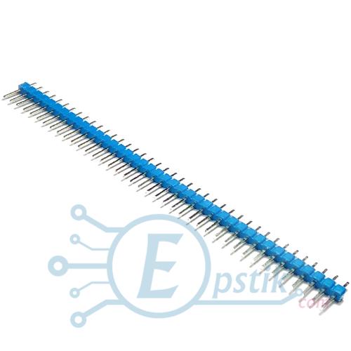 PLS-40, штырьевые соеденители, Синий, 40pin, 2.54мм.