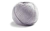 Немецкая летняя пряжа  Ламана Косма Lamana Cosma 37, Perlgrau, Pearl Grey, жемчужно-серый
