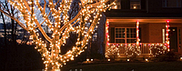 """Светодиодная гирлянда уличная """"String Light"""" (нить) 10 метров, 100 led для создания декораций"""