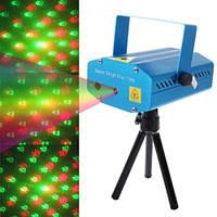Мини лазерный проектор стробоскоп лазер шоу Mini Laser 6in1, фото 1