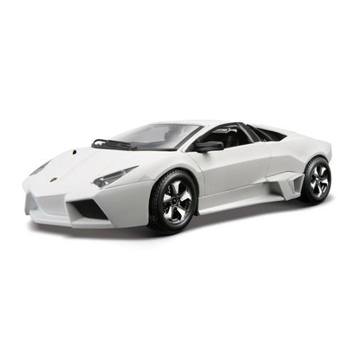 Автомодель - LAMBORGHINI REVENTON ассорти матовый белый серый металлик 1:24