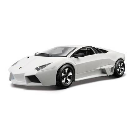 Автомодель - LAMBORGHINI REVENTON ассорти матовый белый серый металлик 1:24, фото 2
