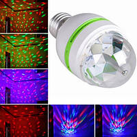 Диско-лампа LED LASER LY 399 E27 LY 339 Discolamp+patron, фото 1