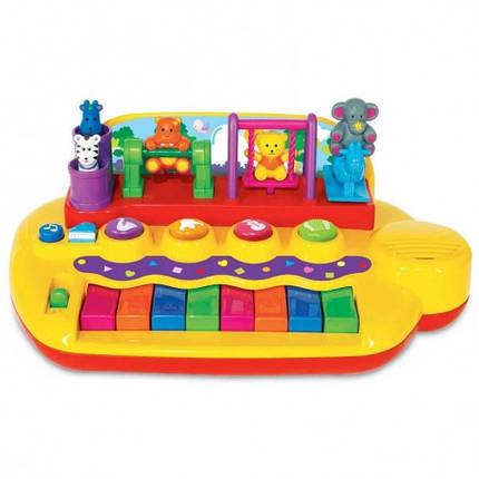Пианино Зверята на качелях KIDDIELAND 033423, фото 2