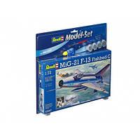 Model Set Многоцелевой истребитель MiG-21 F-13 Fishbed C, 1:72, Revell